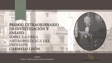 Premio Extraordinario de ensayo sobre la obra de Carmelo Lisón