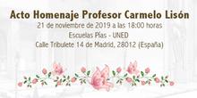 Acto Homenaje Profesor Carmelo Lisón