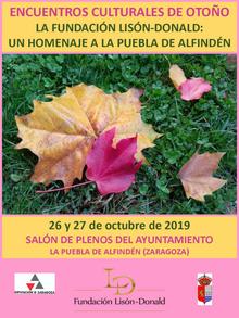 Encuentros Culturales de Otoño 2019